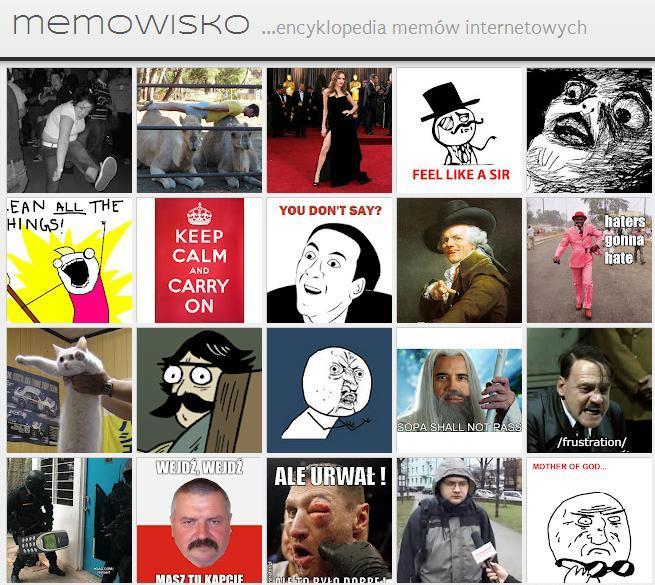 Memowisko encyklopedia memów