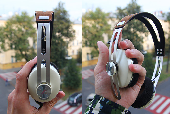 Słuchawki Sennheiser Momentum On-Ear test sprzętu 3