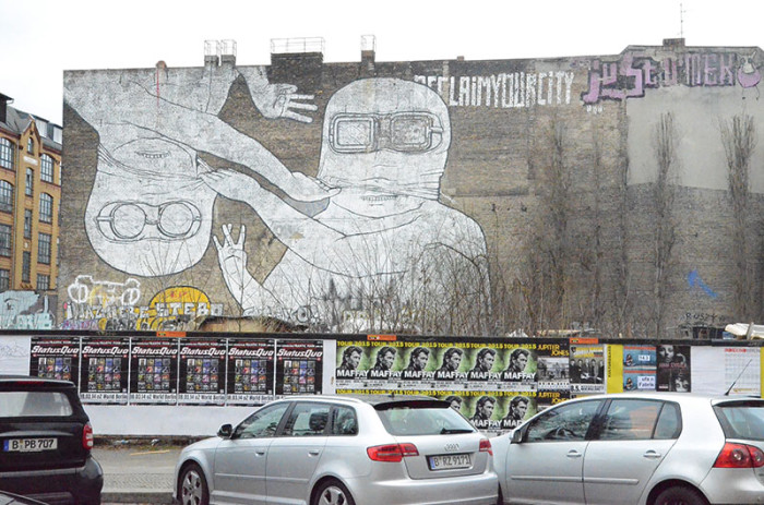 Berlin - Graffiti, street-art, murale (60)