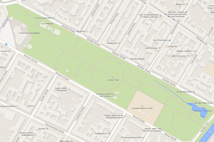 Park dilerów Berlin