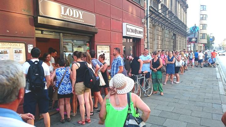 gdzie zjeśc w Krakowie - lody na Starowiślnej