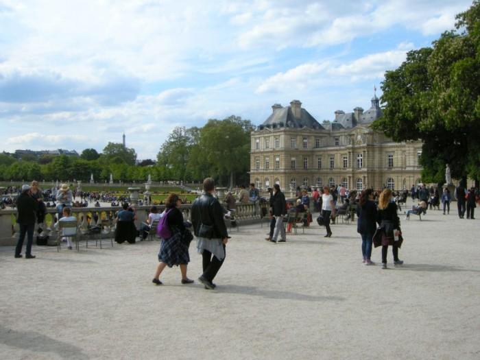Paryż - Ogród Luksemburski (3)