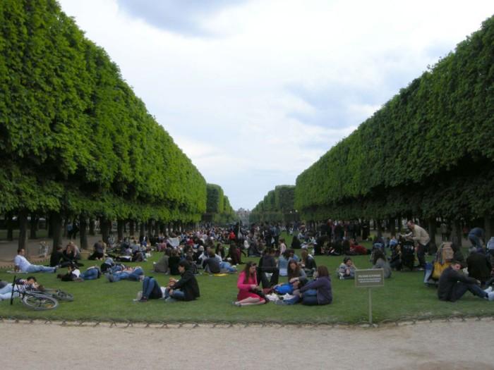 Paryż - Ogród Luksemburski (8)
