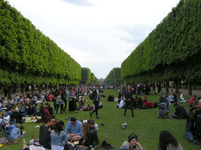 Paryż - Ogród Luksemburski (9)