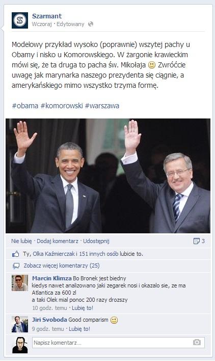 Wizyta Baracka Obamy w Polsce (3)