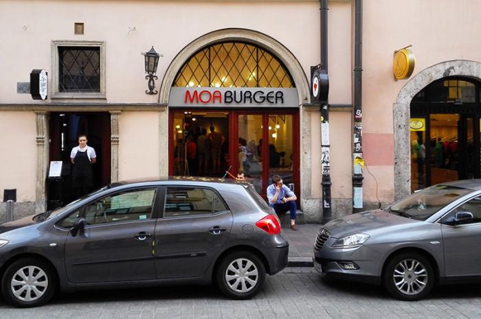 Moaburger - burgery Kraków