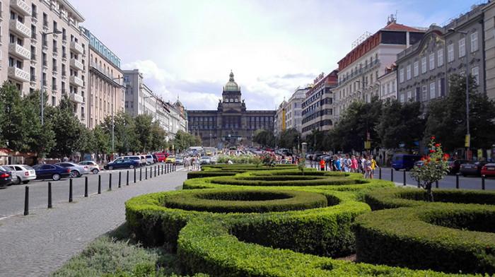 Plac Wacława - Praga