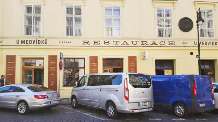 Restauracja U Medvidku - Praga