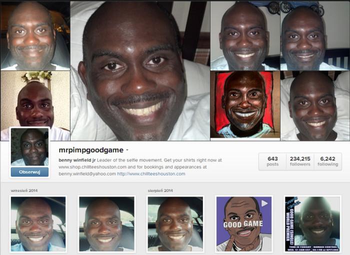 Mr Pimp Good Game instagram