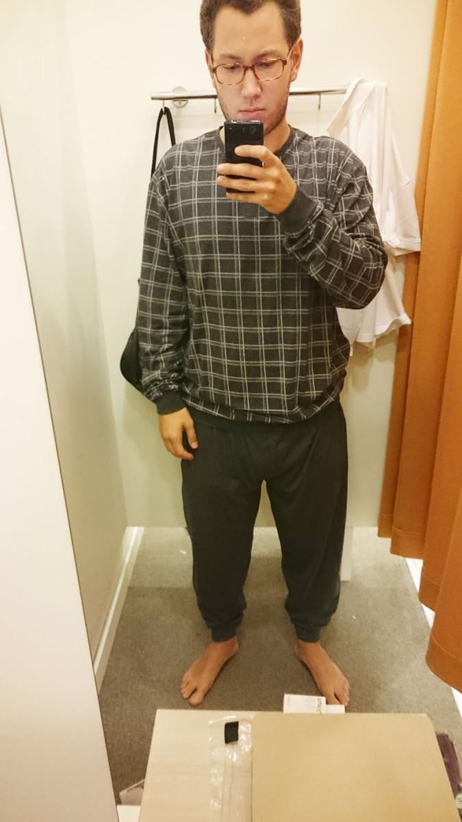 c&a 2 - męska piżama