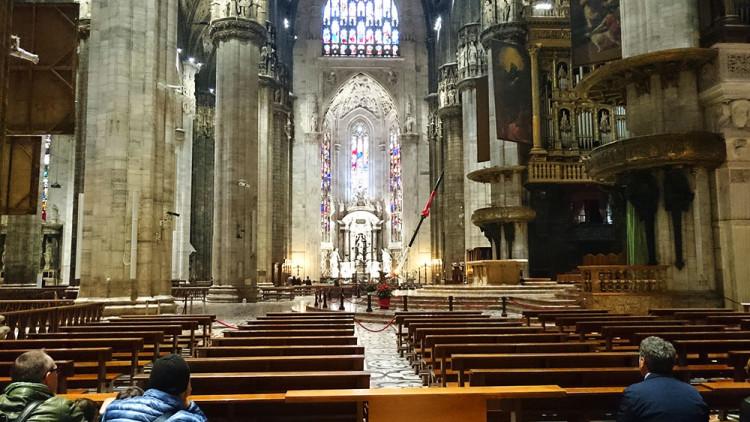 Duomo - kościół w którym nigdzie nie można wejść (2)