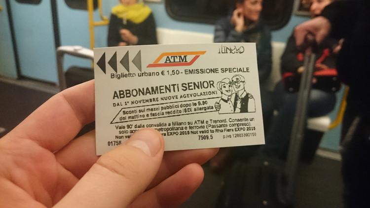 szeroki bilet do metra