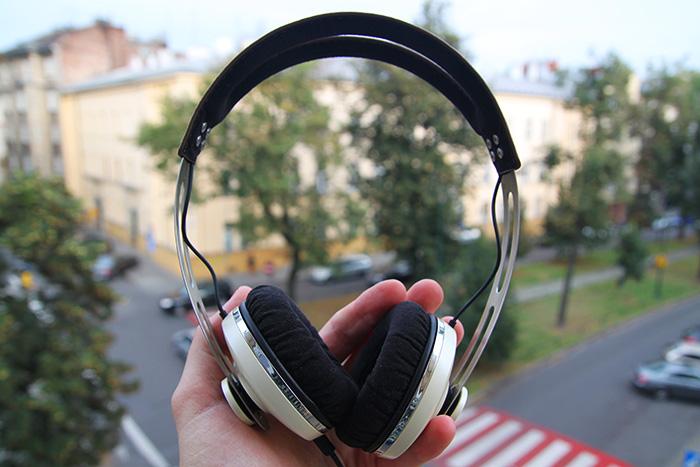 Słuchawki Sennheiser Momentum On-Ear test sprzętu 2