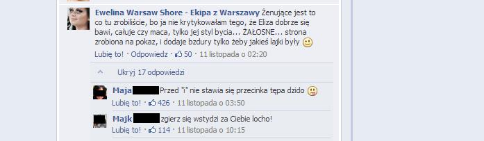 Warsaw Shore - komentarze 11