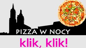 pizza w nocy Kraków