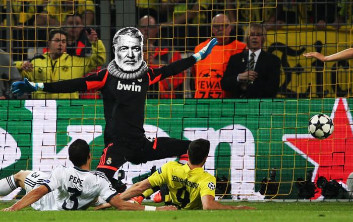 Heineken - liga mistrzów - zostań futbolowym Hemingwayem