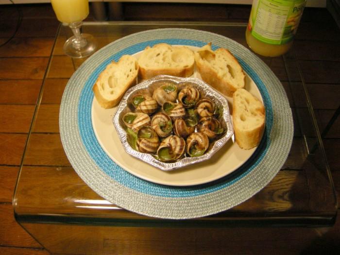 Paryż - ślimaki (2)