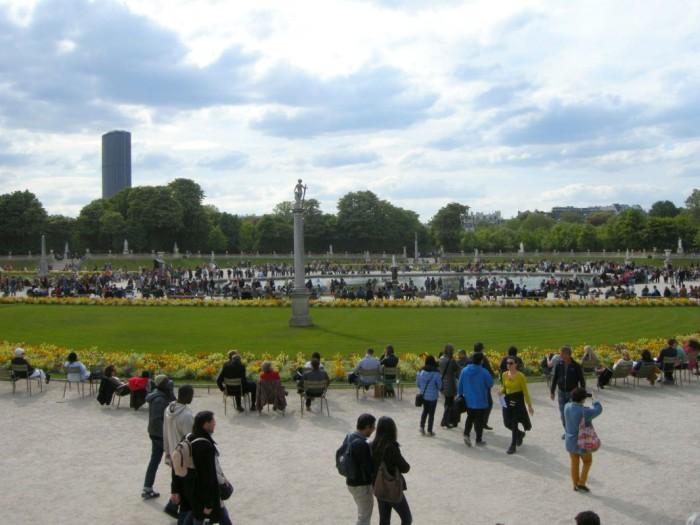 Paryż - Ogród Luksemburski (4)