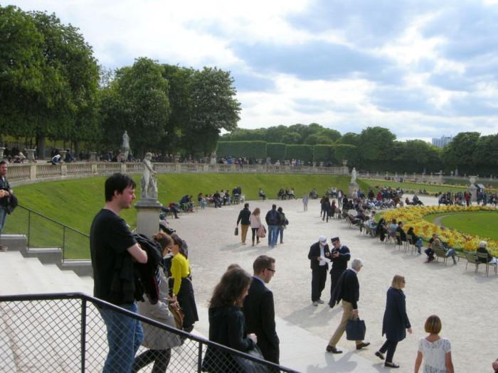 Paryż - Ogród Luksemburski (5)