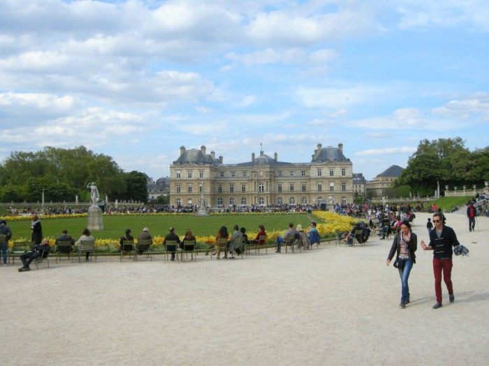 Paryż - Ogród Luksemburski (7)