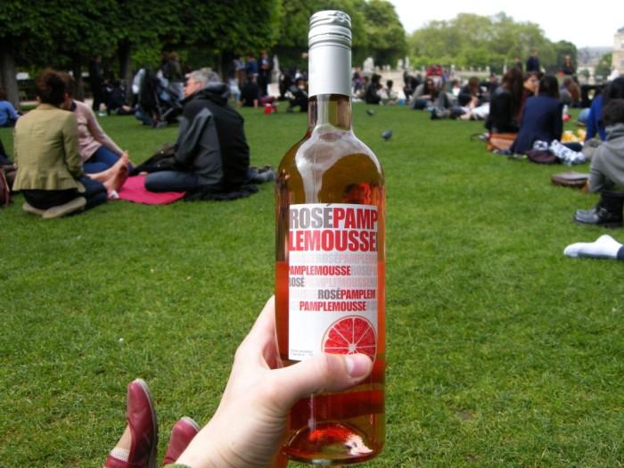 Paryż - napój grejfrutowy