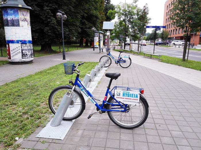 Wypożyczalnia rowerów miejskich w Krakowie KMK Bike (1)