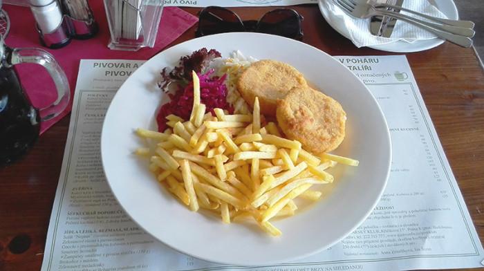 Pivovarsky Dum - Praga 3 - smażony ser