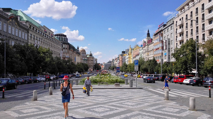 Plac Wacława - Praga 2