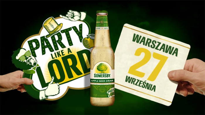 Party like a lord Somersby