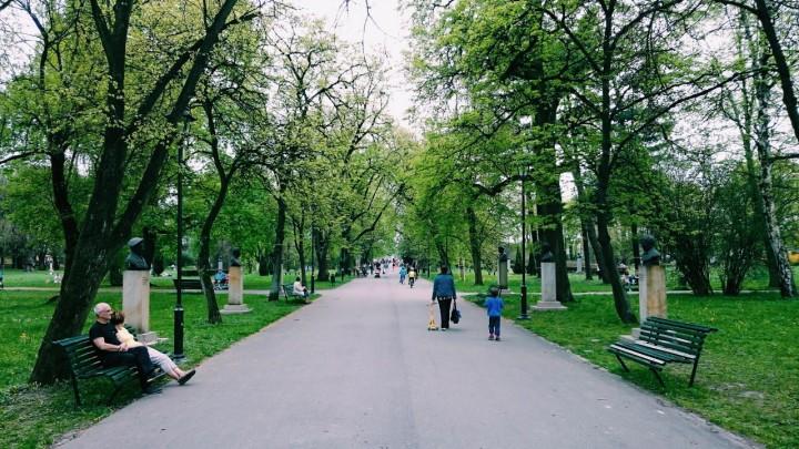Park Jordana - zielone miejsca w Krakowie (1)