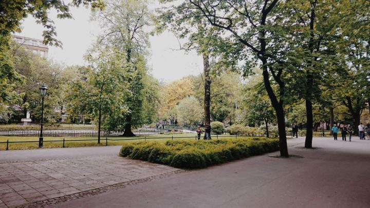 Planty - zielone miejsca w Krakowie (7)