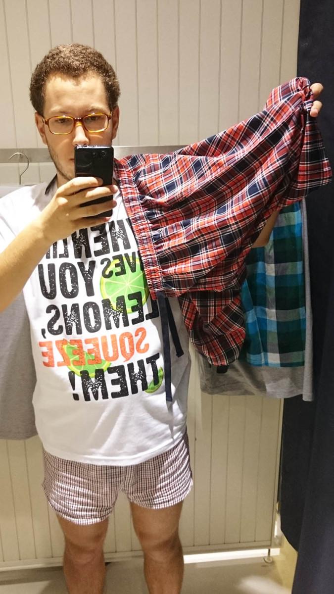 reserved 2 - męska piżama