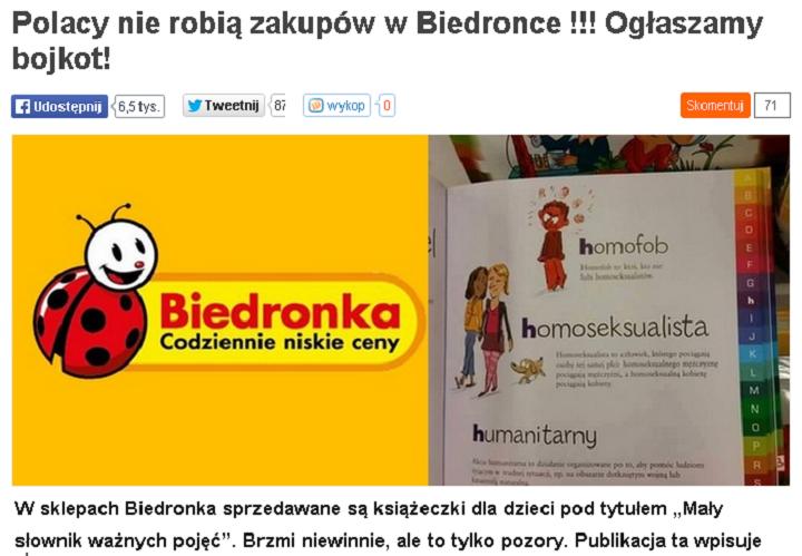 Fronda Biedronka
