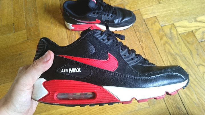 3 lata w Nike AirMax 90