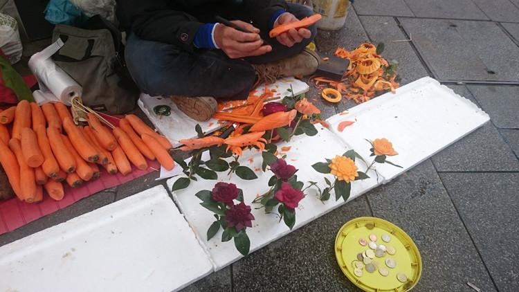 rzeźby z marchweki