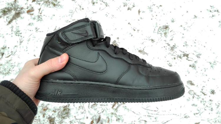 Nike Air Force 1 - męskie zimowe buty